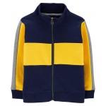Colorblock Zip-Up Jacket