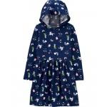 Unicorn Hooded Jersey Dress
