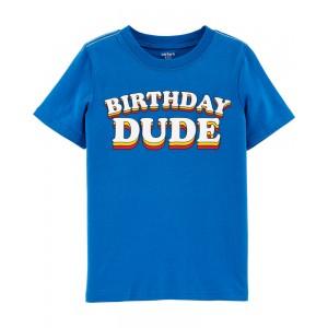 Birthday Dude Jersey Tee
