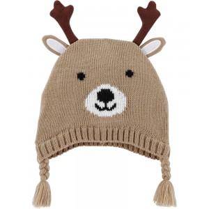 Reindeer Tassel Hat