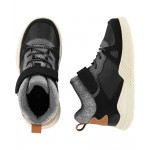 OshKosh Charcoal High-Top Sneakers