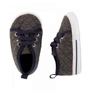 OshKosh Quilted Sneaker Baby Shoes