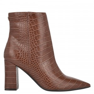 Cacey 9x9 Heeled Booties