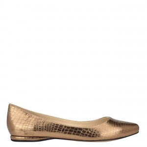 Speakup Almond Toe Flats