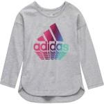 Slit Long-Sleeve T-Shirt - Toddler Girls