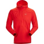 Aptin 1/2-Zip Hooded Fleece Pullover - Mens