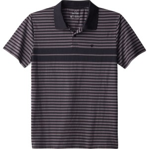 Shield Stripe Polo X Knit Shirt - Mens