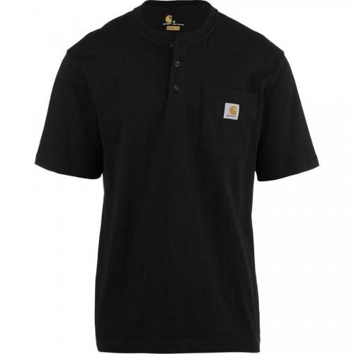 칼하트 Workwear Pocket Short-Sleeve Henley Shirt - Mens