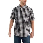 TW174 Relaxed Fit Plaid Shirt - Mens