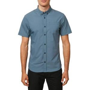 Stockton Hybrid Short-Sleeve Button-Down Shirt - Mens