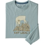 Long-Sleeve Eat Local Goat Responsibili-T-Shirt - Mens