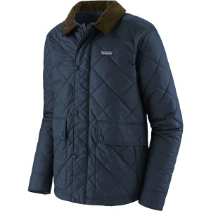 Diamond Quilted Jacket - Mens