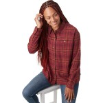 Driving Song Flannel Shirt - Womens