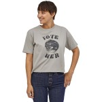Vote Her Organic Easy Cut T-Shirt - Womens