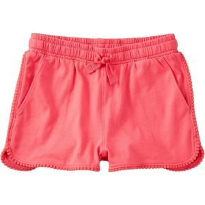 Pom Pom Trim Short - Girls
