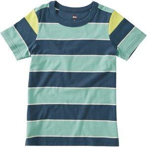 Striped Shoulder Inset T-Shirt - Boys