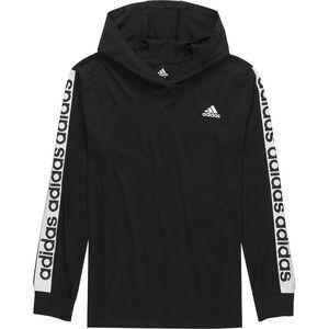 Linear Hooded Long-Sleeve T-Shirt - Boys