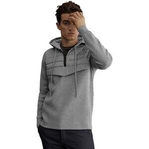 Hybridge Knit Anorak - Mens