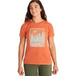 Woodblock T-Shirt - Womens