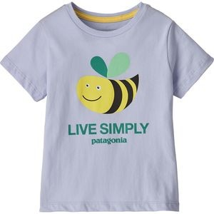 Live Simply Organic T-Shirt - Toddler Girls
