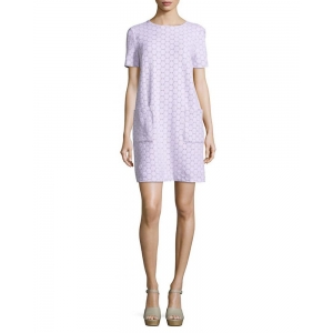 Marc By Marc Jacobs Leyna Dotty Short-Sleeve Dress