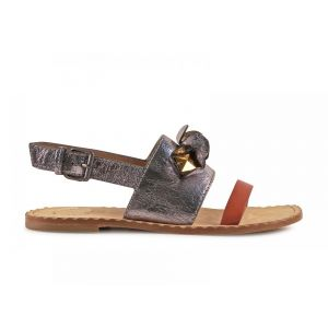 Marc By Marc Jacobs Womens Multicolor Leather Sandals