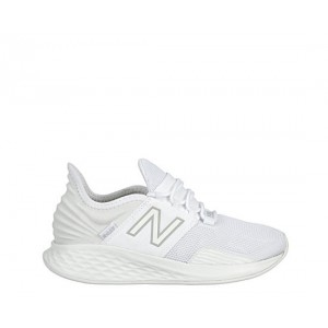 New Balance Womens Fresh Foam Roav Running Shoe - White