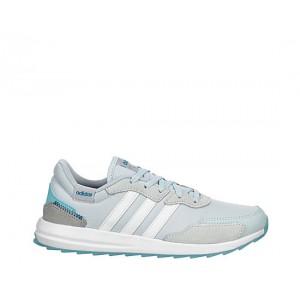 Adidas Womens Retrorun Sneaker - Pale Blue