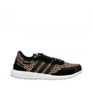 Adidas Womens Retrorun Sneaker - Black