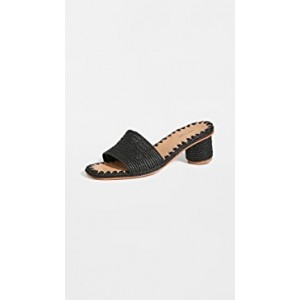 Bou Heeled Slides