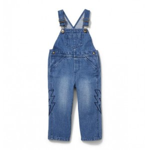 Juno Valentine Embroidered Overall