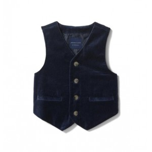 Velvet Suit Vest