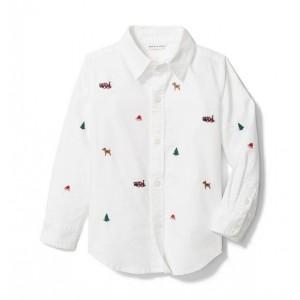 Holiday Oxford Shirt