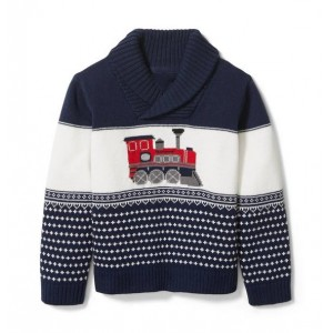 Train Shawl Pullover