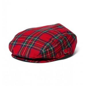 Plaid Newsboy Cap