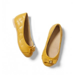 Quilted Bow Flat