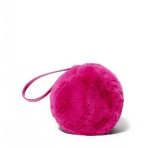 Faux Fur Circle Bag