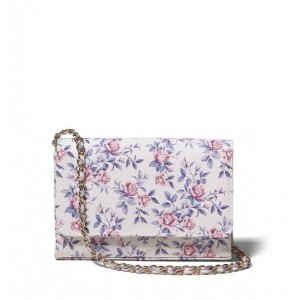 Floral Chain Purse