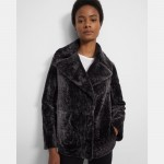 Clairene Moto Jacket in Shearling