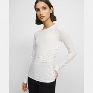 Boatneck Top in Organic Cotton