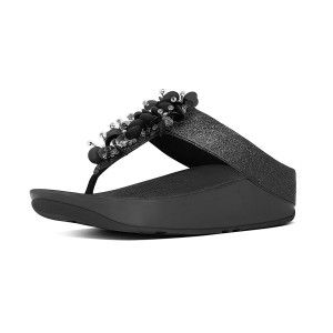 Womens BOOGALOO Leather Toe-Thongs