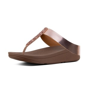 Womens FINO Leather Toe-Post Sandals