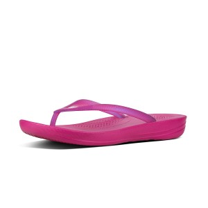 Womens IQUSHION Rubber Flip-Flops