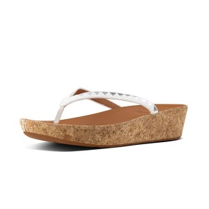 Womens LINNY Leather Toe-Thongs