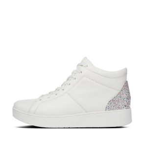 Womens Rally Pu-Glitter Sneakers