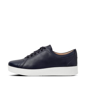 Womens Rally Leather Sneakers