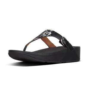 Womens THE-SKINNY Leather Toe-Thongs