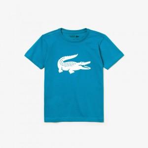 Kids Sport Technical Jersey Oversized Croc Tennis T-Shirt
