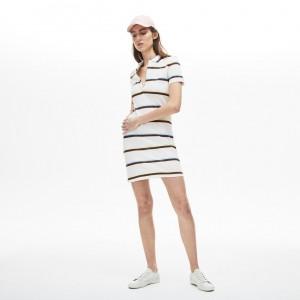 Womens Stretch Cotton Polo Dress