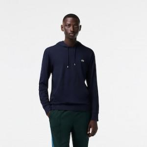 Mens Hooded Cotton Jersey Sweatshirt